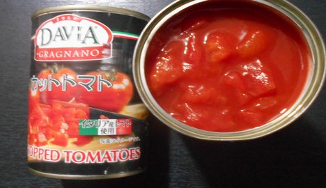 栄養リコピン トマト缶詰