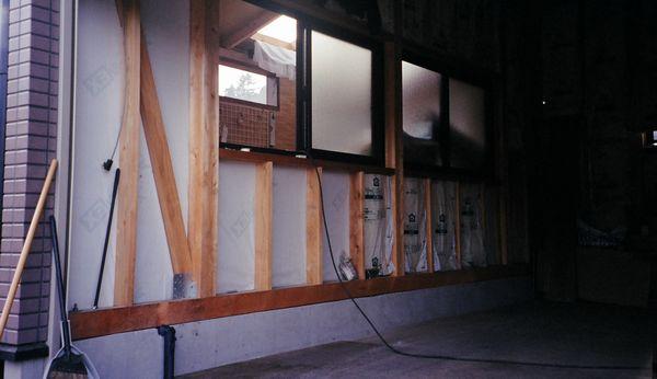 ガレージの壁 施工例