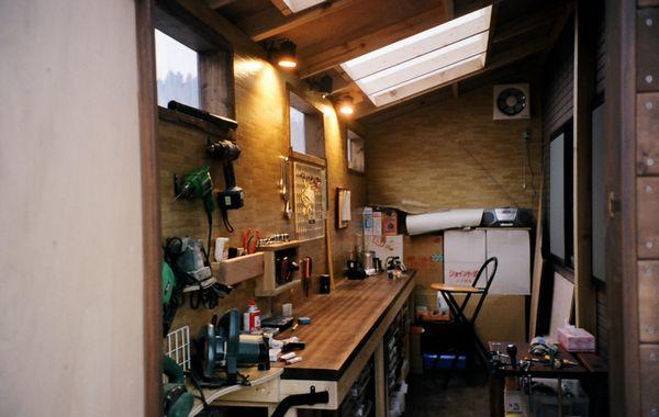 ガレージライフ 作業小屋