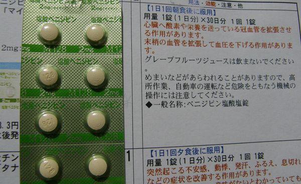 薬の服用上の注意事項